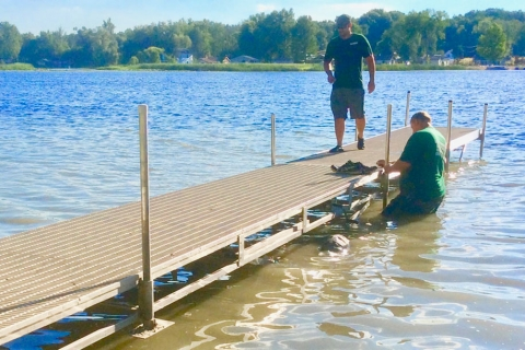 Why Aquatic Herbicides Don't Work as well as Lake Weed Control Mats